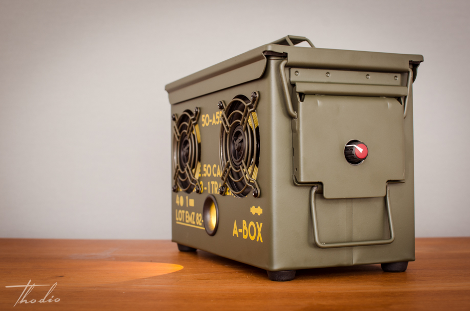 New 2016 50 Cal Ammo Can Fully Wireless Bluetooth Wifi