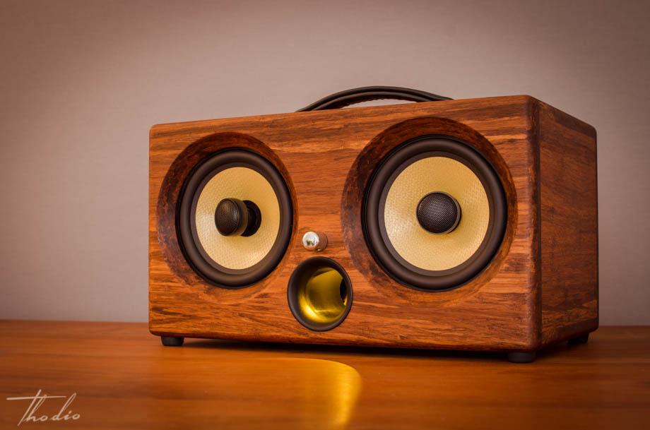 best wireless speakers review 2016 test bluetooth wifi airplay portable boombox outdoor beach party exclusive luxury speaker bamboo wood teak kevlar power hifi audiophile hipster handmade manmade battery li-ion custom special present gift christmas