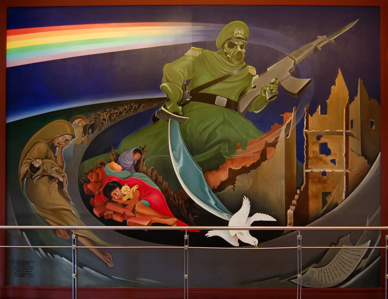 301 moved permanently for Denver mural airport