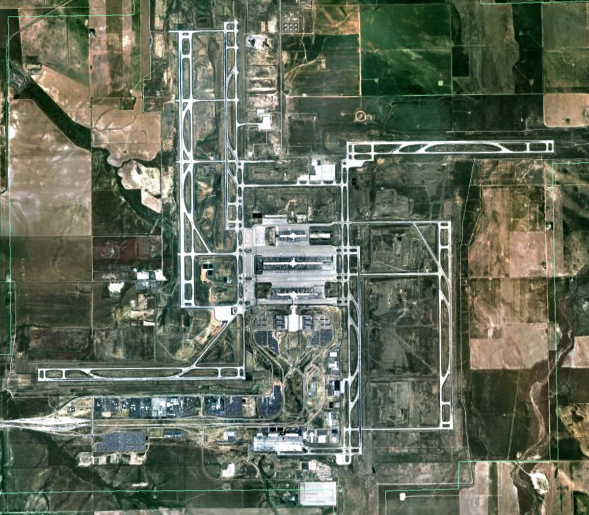 TURBO BLOG: The New World Order Airport In Denver, Colorado